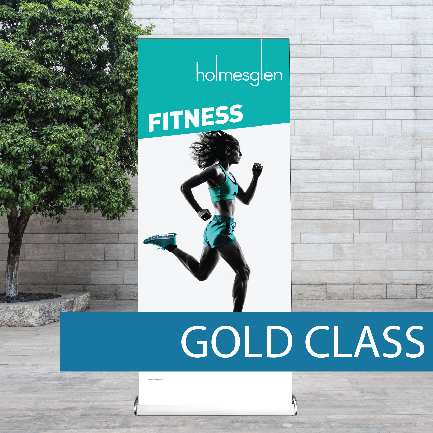 Retail Pull-up banner
