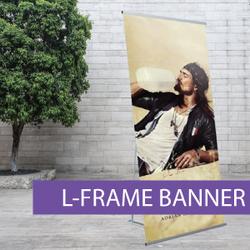 Portable Displays - L-Banner - BW 7