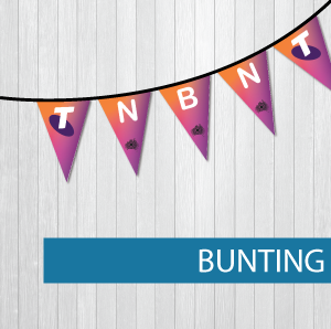 Flags bunting Telstra