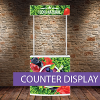Promotional Counter Display