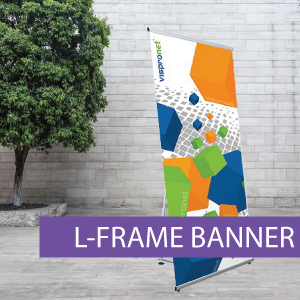 Portable Displays - L-Banner - BW 2