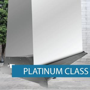 Platinum Class pull-up banner base