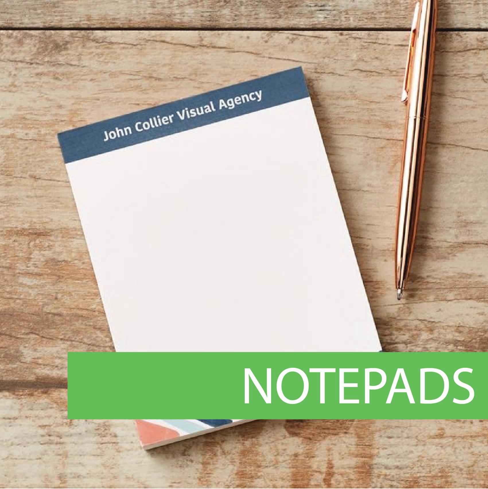 Custom printed pads