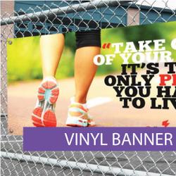 Outdoor media - Vinyl Banner 2