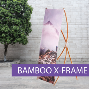 Portable Displays - X-Frame - Bamboo - B