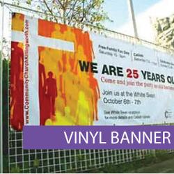 Outdoor media - Vinyl Banner 4