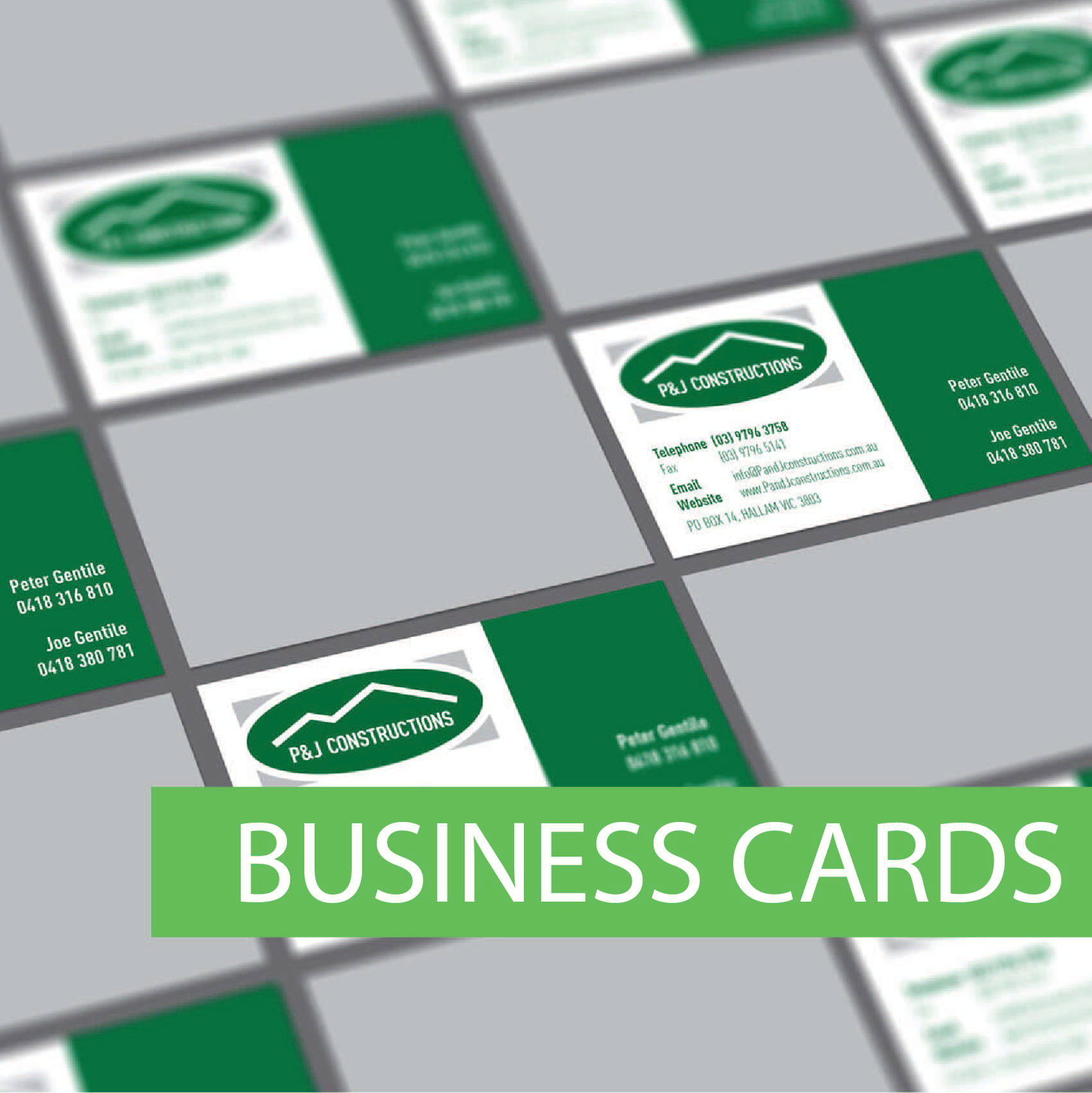 Wollongong business cards