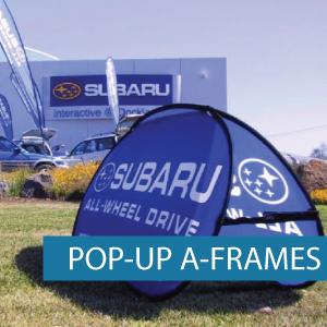 A-Frames - Pop-up A-Frame - Subary