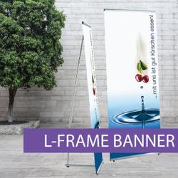 Portable Displays - L-Banner - BW 4