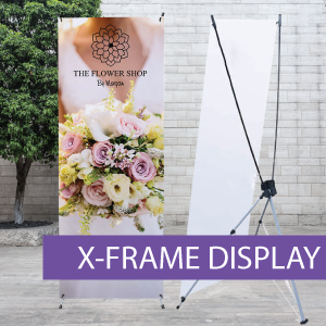 Portable Displays - X-Frame - BW 1