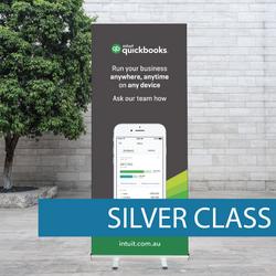 Quickbooks Pull-up Banner