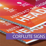 Corflute Signs for any occasion