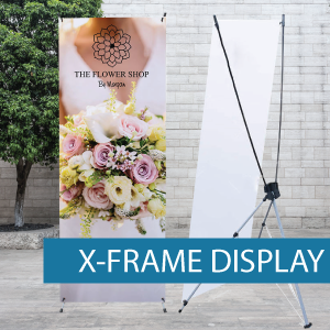 Icon - Portable Displays - X-Frame - BM