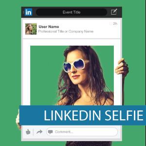 Corflute - Selfie Frames - LinkedIn