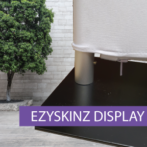 EZYSKINZ - Display Stand - Base & Fittin