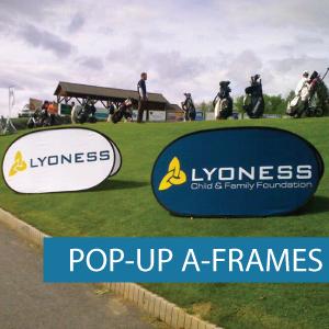 A-Frames - Pop-up A-Frame - Golf