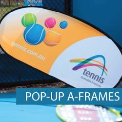 A-Frames - Pop-up A-Frame - Tennis