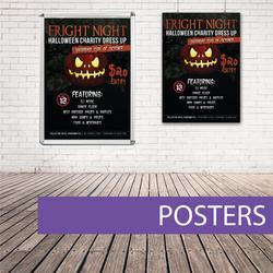 Wall poster halloween