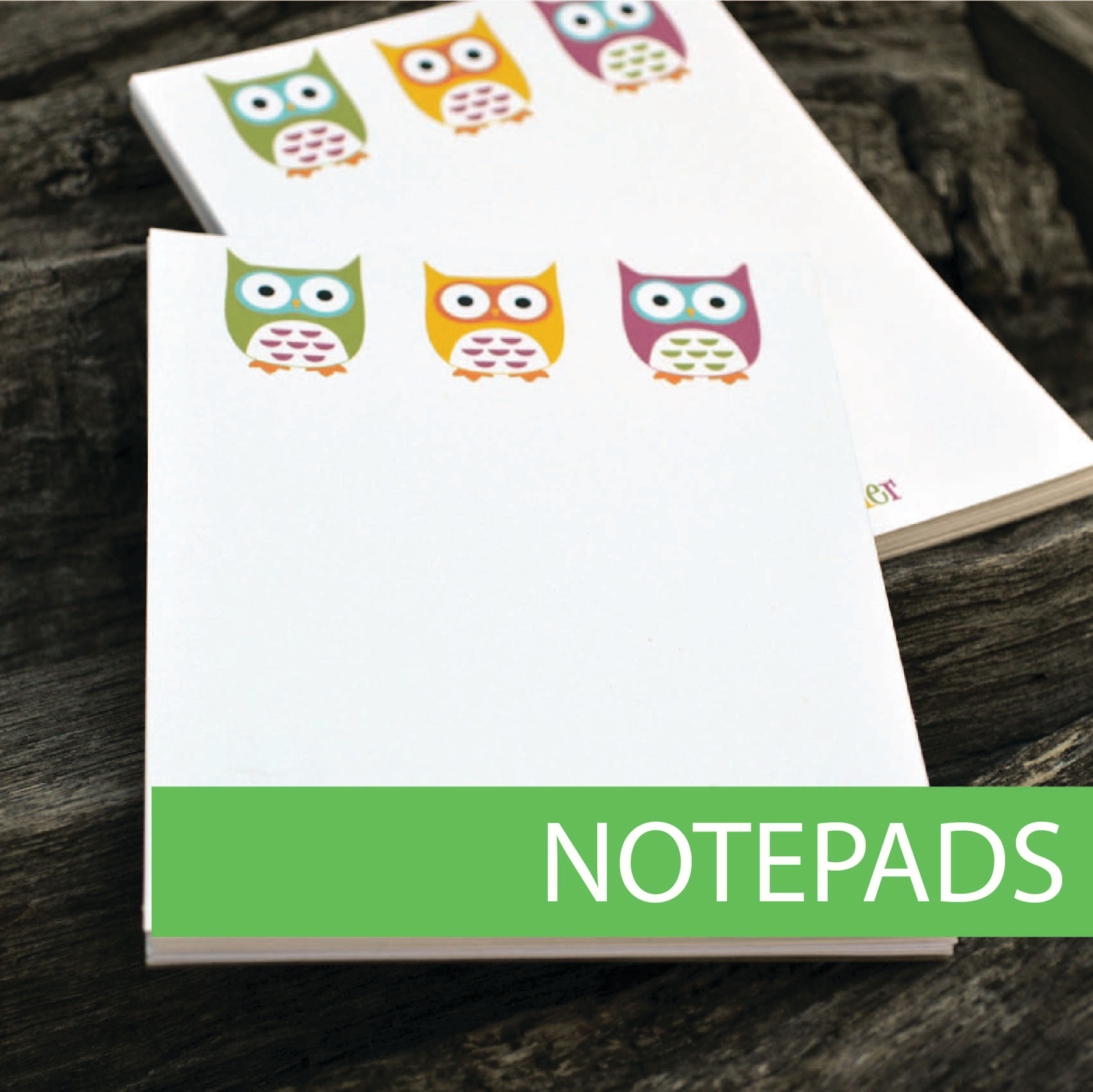 Custom notepads