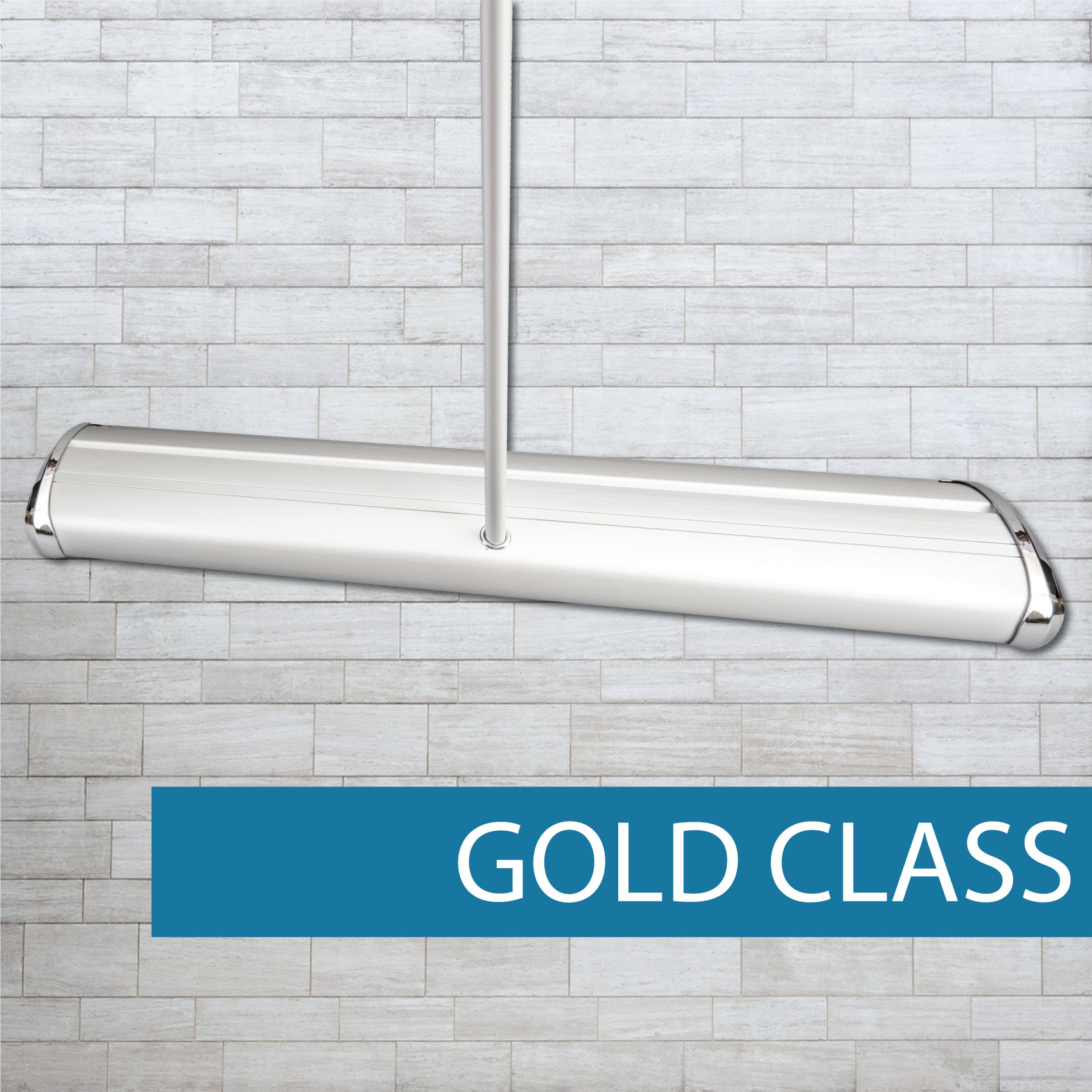 Gold Class pull-up banner Base