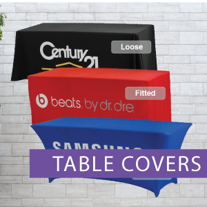 Table Covers, Loose table cover, Fitted
