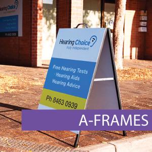 Aframe, A-Frame, Sandwich Board