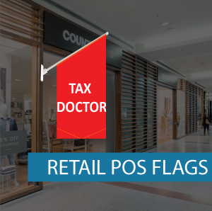 Retail Shopfront Flag