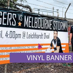 Outdoor media - Vinyl Banner 7