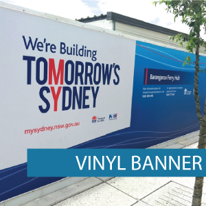 Outdoor Media - Vinyl Banners - Category