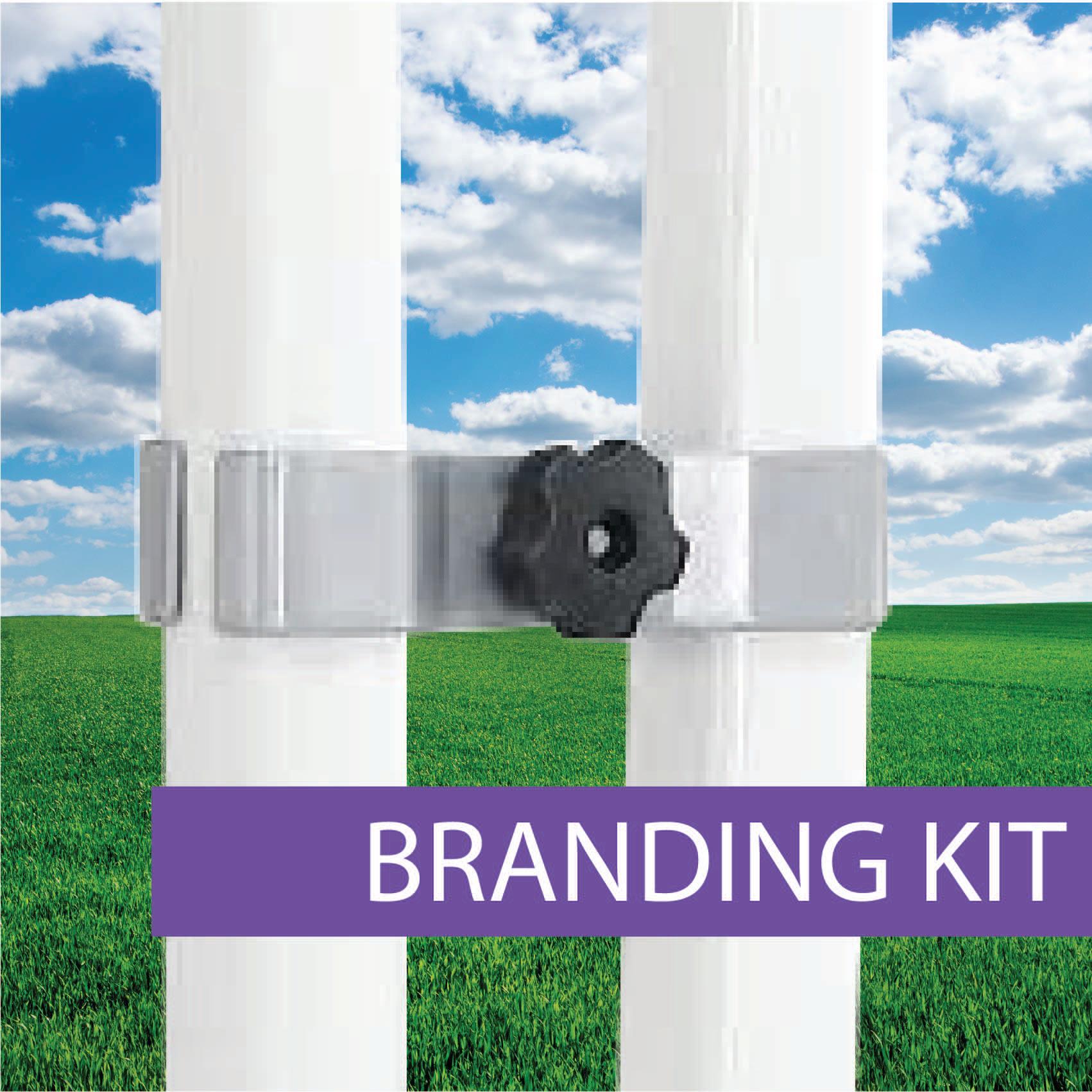 Oztrail Branding Kit fitting