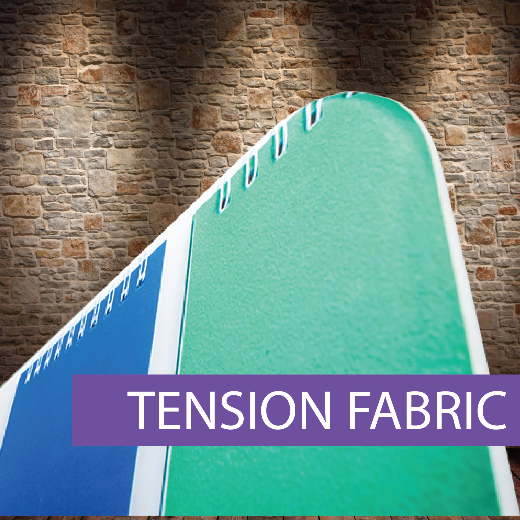 Media Wall Tension Fabric