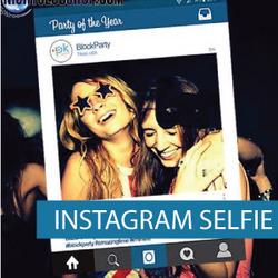 Corflute - Selfie Frames - Instagram