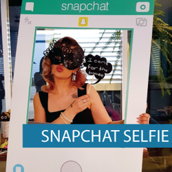 Corflute - Selfie Frames - Snapchat
