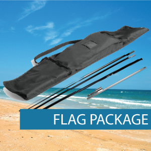 Bow Banner Flag Package