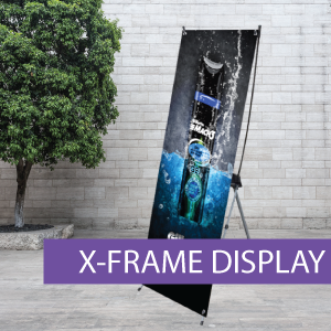 Portable Displays - X-Frame - BW 5