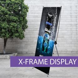 Portable Displays - X-Frame - BW 5