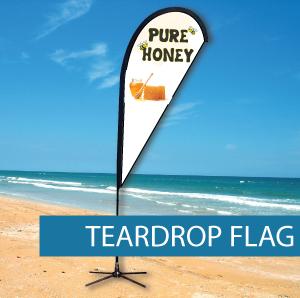 Teardrop Flags Large
