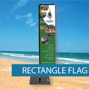 Large rectangle flag