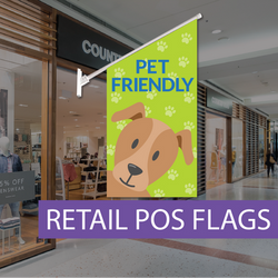 Point of sale flag