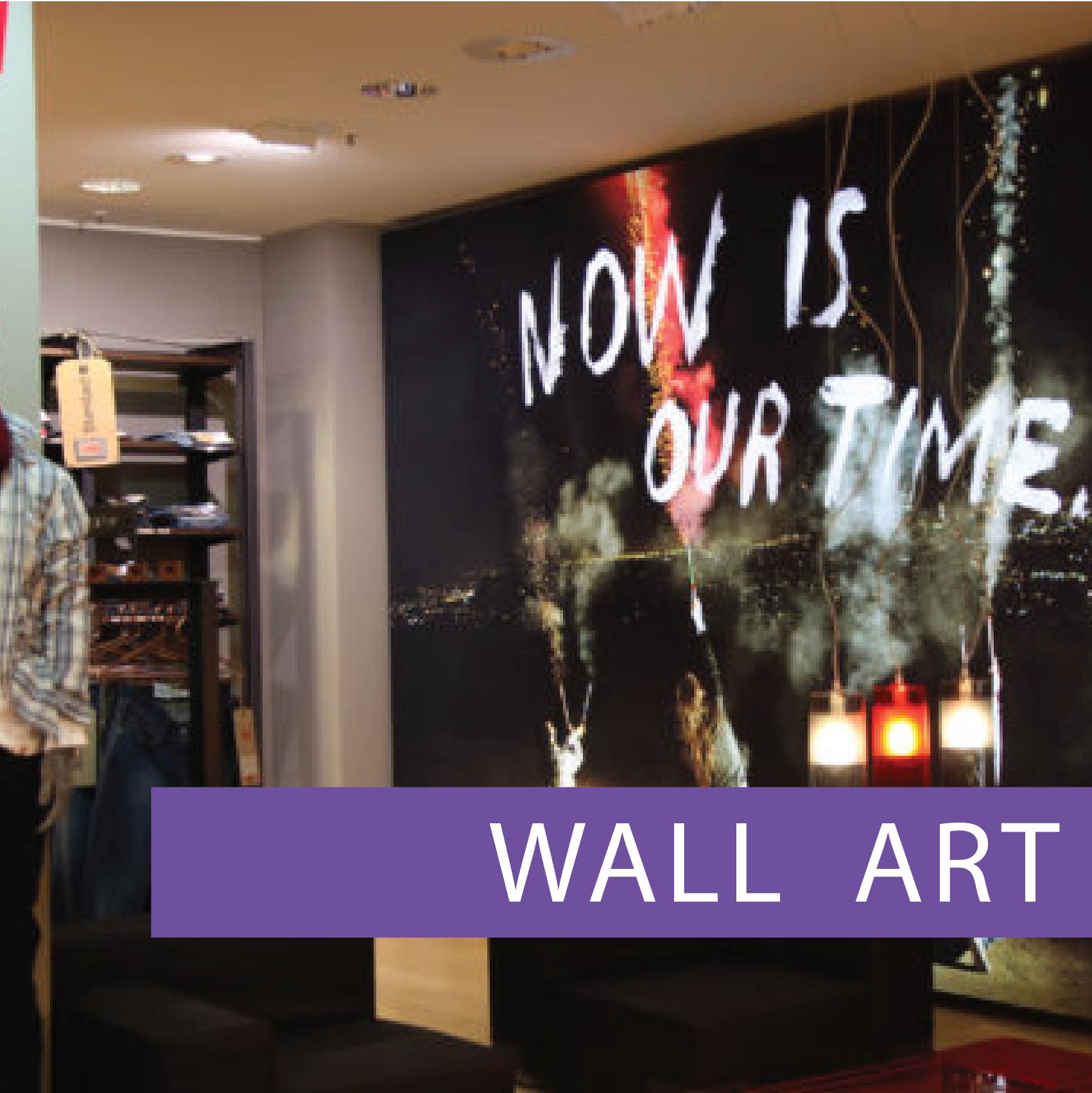 Frameless Wall Art