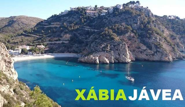 Granadella cove in Jávea-Xábia