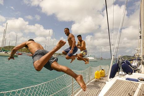 Ruta por Bocas del Toro  en barco velero