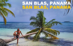 San Blas en vacaciones en velero