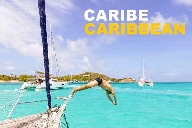 Salto barco Petit St Vicent Caribe