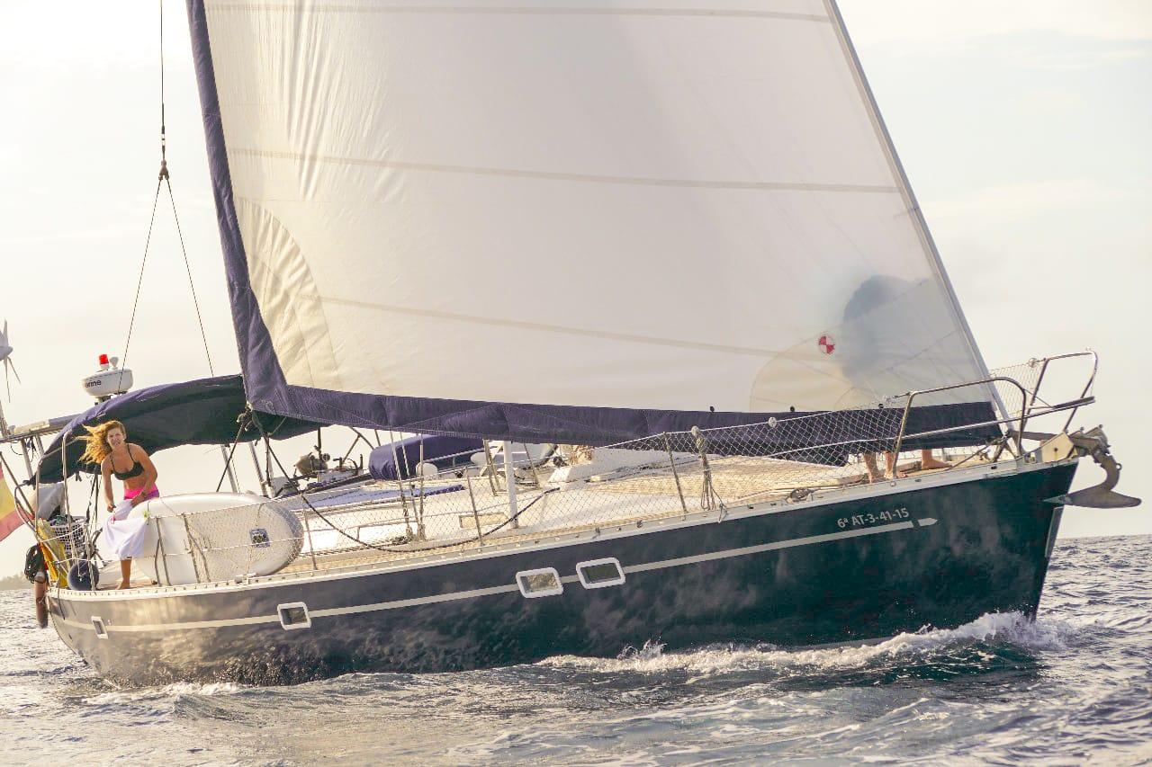 velero navegar caribe