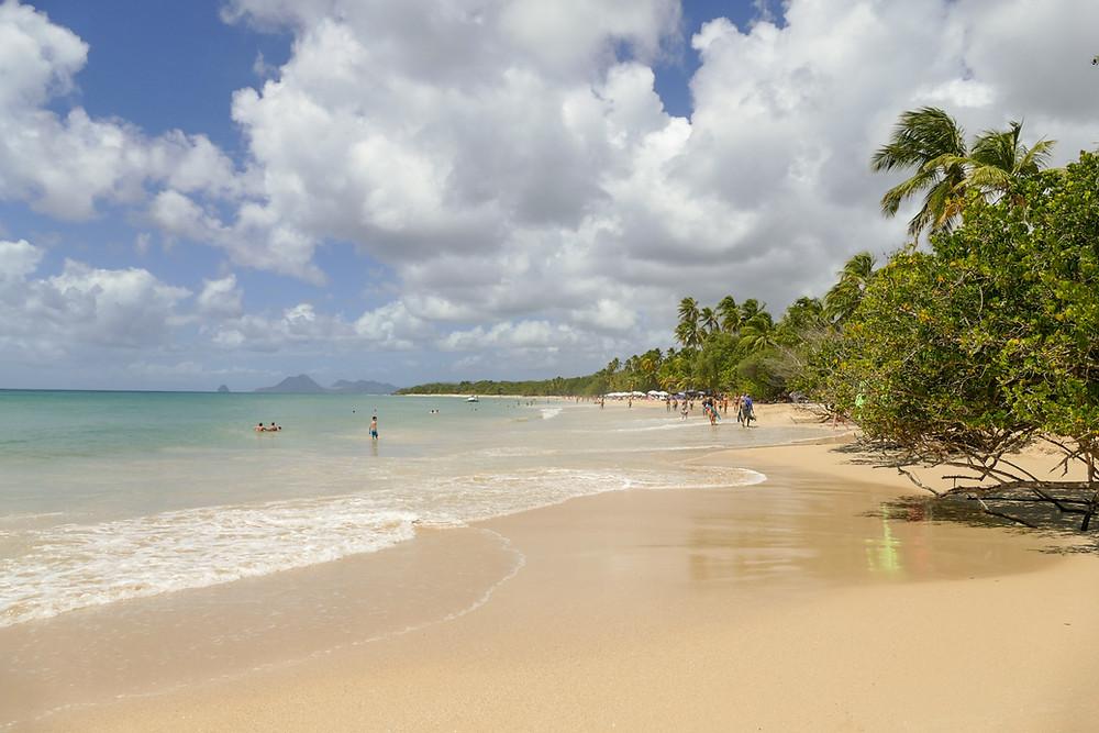 Playa al sur de Le Marin en Martinica, Caribe