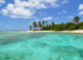 Playa del parque natural de tobago cays en tus vacaciones en barco velero