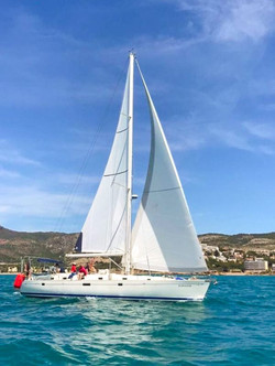 Oceanis 500 with all inclusive