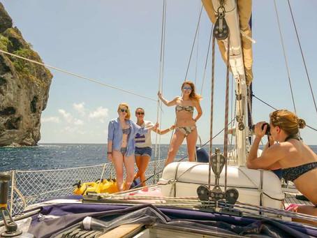 """""""Sugerencia de conducta para tus vacaciones en barco velero!!!"""""""