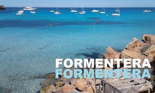Fondeo cala Saona en Formentera